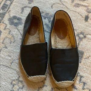 Sam Edelman flat black espadrilles Size 7.5